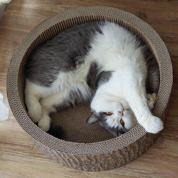 猫の多頭飼い用大きめ段ボールつめとぎ